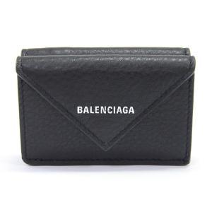 バレンシアガ 三つ折財布 ペーパーミニウォレット 391446 カタオシ 未使用品 1401413_...