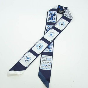 エルメス スカーフ ツイリー  シルク 中古A品 1403549_横浜西口店