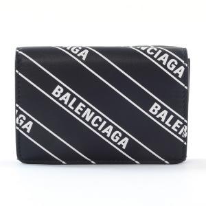 バレンシアガ 三つ折財布 エブリデイミニウォレット 551921 カーフ 未使用品 1406158_...