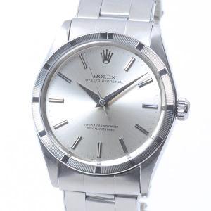 ロレックス メンズ腕時計 オイスターパーペチュアル 1007 ステンレス 中古A品 1409115_...