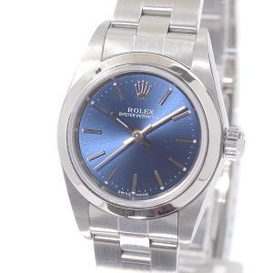 ロレックス レディース腕時計 オイスターパーペチュアル 76080 ステンレス 中古A品 14094...