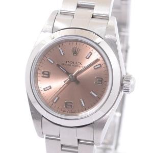 ロレックス レディース腕時計 オイスターパーペチュアル 76080 ステンレス 中古A品 14096...