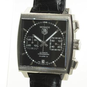 タグホイヤー メンズ腕時計 モナコ クロノグラフ CAW2110.FC6177 ステンレス 中古A品...