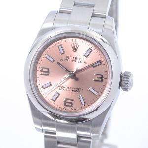 ロレックス レディース腕時計 オイスターパーペチュアル 176200 ステンレス 中古A品 1418...