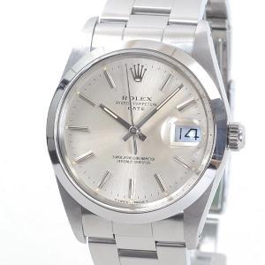 ロレックス メンズ腕時計 オイスターパーペチュアルデイト 15000 ステンレス 中古A品 1421...