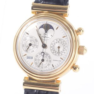 アイダブリュシー メンズ腕時計 ダヴィンチ トゥールビヨン 3752-001 イエローゴールド 中古...