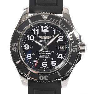 ブライトリング メンズ腕時計 スーパーオーシャン A17365C9/BD67 ステンレス 中古A品 ...