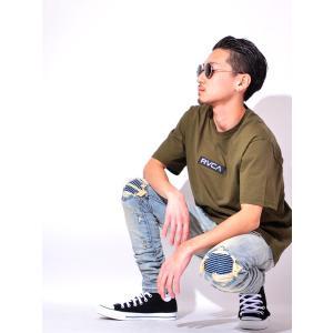 土日祝日も営業  RVCA BIG RVCA Crew Neck Sweat Shirts ルーカ ...