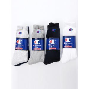土日祝日も営業   Champion 3 pairs Socks チャンピオン 3足組 ソックス  ...