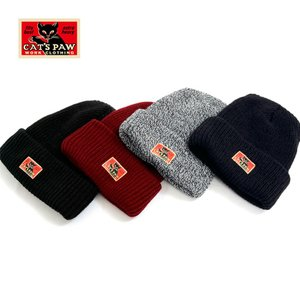 キャッツポウ CAT'S PAW ニット ワッチ キャップ 帽子 メンズ 東洋 CP01219