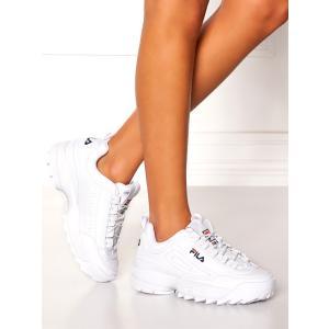 土日祝日も営業  FILA DISRUPTOR 2 WHITE Sneaker フィラ ディスラプタ...