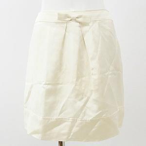 プライベートレーベル(Private Label)オフ白リボンスカート S ★ 12121225-006|rodeogallery