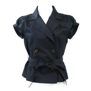 ロペ(ROPE)ネイビー半袖ジャケット 7|rodeogallery