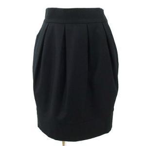 スピックアンドスパン(Spick&Span)黒スカート 38|rodeogallery