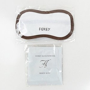 フォクシー (FOXEY)アイマスク&バスパウダー rodeogallery