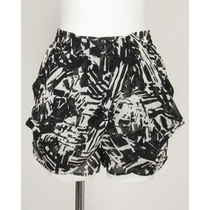 スタニング STUNNING 黒×白柄ショートパンツ F|rodeogallery