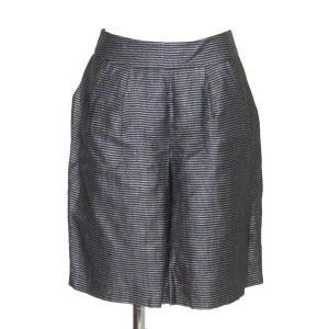 アドーア(ADORE)黒×グレーボーダースカート 38|rodeogallery