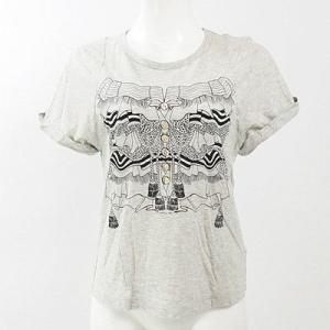 シーバイクロエ(SEE BY CHLOE)グレー半袖Tシャツ I38|rodeogallery