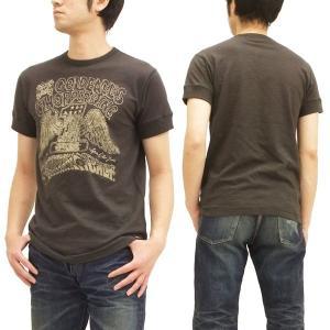 MWS 半袖Tシャツ アメリカン バイカーズ  ゴールドイーグルス 1513701 スミクロ 3L 新品|rodeomatubara