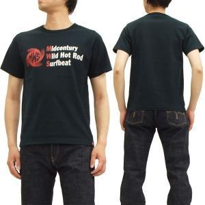 MWS 半袖Tシャツ 1814707 定番ロゴ アメカジ メンズ 半袖tee 黒 新品|rodeomatubara