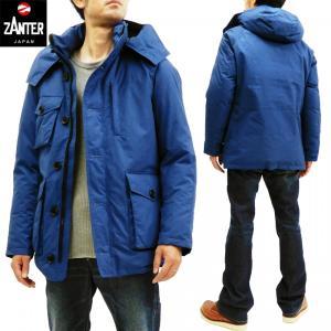 ザンタージャパン ダウンジャケット 現行型 南極観測隊モデル ZANTER JAPAN ダウンパーカーWP  6705 ブルー 新品 rodeomatubara