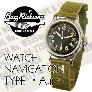 バズリクソンズ ミリタリーウォッチ  TYPE A-11 Buzz Rickson 腕時計 BR02613 新品|rodeomatubara