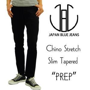 ジャパンブルージーンズ ストレッチチノ Japan Blue Jeans スリムテーパード プレップパンツ J6121J01 ブラック 新品|rodeomatubara