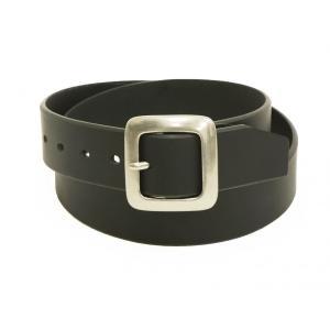 ベルト メンズ 40mm牛革製プルアップレザーベルト ソルト&シュガー サイズ調整可能 ki-1151 黒 新品|rodeomatubara