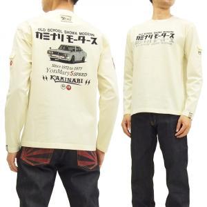 カミナリモータース ロンT KMLT-150 KAMINARI 長袖Tシャツ ヨンメリ エフ商会 オ...
