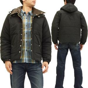 シュガーケーン パディングジャケット SC13092 東洋エンタープライズ メンズ 中綿アウター 黒 新品
