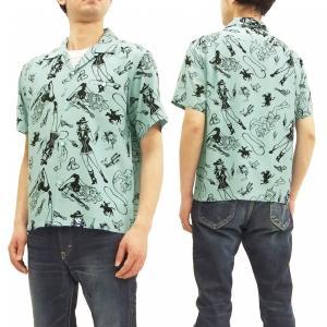 スターオブハリウッド ヴィンス・レイ オープンシャツ WILD WILD WEST カウガール 半袖...