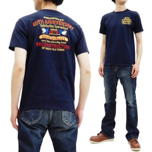 ステュディオダルチザン 40周年 刺繍Tシャツ Studio D'artisan 半袖Tシャツ ネイ...