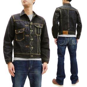 ステュディオダルチザン クレイジーデニムジャケット スヴィンゴールド Studio D'artisan 40TH Gジャン SP-055 ワンウォッシュ 新品|rodeomatubara