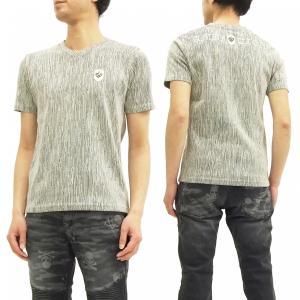 ビーアンビション 楊柳Tシャツ Be Ambition Vネック半袖Tシャツ ロゴ刺繍 T27102 白 新品|rodeomatubara