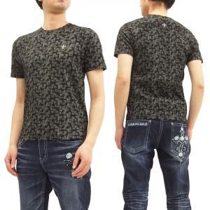 ビーアンビション Tシャツ Be Ambition 幾何学グラフィック 半袖Tシャツ PUワッペン&ロゴ刺繍 T28102 黒 新品|rodeomatubara