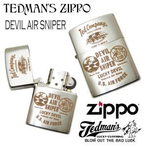 テッドマン ジッポライター TEDMAN ZIPPO オイルライター エフ商会 デビルスナイパー TDZ-023 新品|rodeomatubara