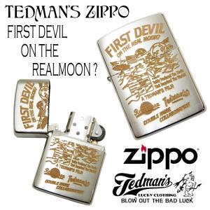 テッドマン ジッポライター TEDMAN ZIPPO オイルライター エフ商会 宇宙飛行士テッド TDZ-024 新品|rodeomatubara