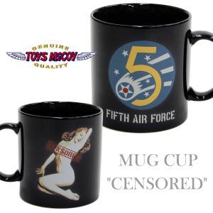トイズマッコイ マグカップ TOYS McCOY マリリン・モンロー 第5空軍 TMA1823 黒 新品|rodeomatubara
