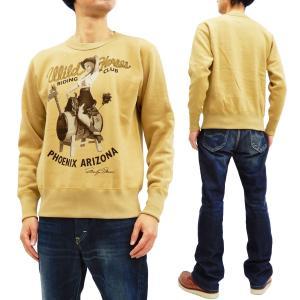 トイズマッコイ スウェットシャツ TOYS McCOY トレーナー MARILYN MONROE WILD HORSE TMC1952 マスタード 新品|rodeomatubara