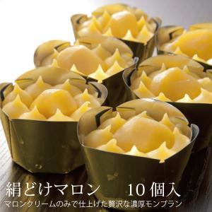 敬老の日 洋菓子 スイーツ ギフト プレゼント ラッピング無料 20万個完売モンブラン 絹どけマロン ( 10個入り )|roermond