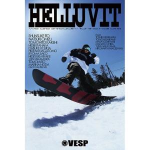 17-18  VESP ベスプ  [BLACK HELLUVITT] スノーボード DVD  SNO...
