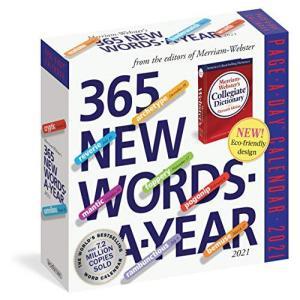 365 New Words-a-Year 2021 Calendar rokufi