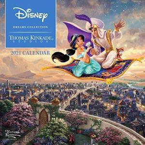 Disney Dreams Collection by Thomas Kinkade Studios: 2021 Mini Wall Calendar rokufi