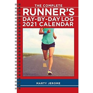 The Complete Runner's Day-By-Day Log 2021 Calendar|rokufi