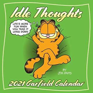 Garfield 2021 Wall Calendar: Idle Thoughts rokufi