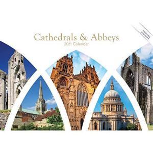 Cathedrals & Abbeys A5 Calendar 2021 (A5 Regional)|rokufi