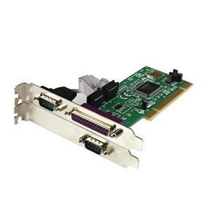 スターテック.com パラレル2ポート/シリアル1ポート増設PCIカード 16550 UART対応 PCI2S1P rokufi