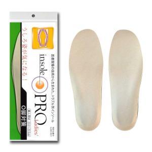 インソールプロ(靴用中敷き) O脚対策 レディス・女性用 M(23~23.5cm)|rokufi