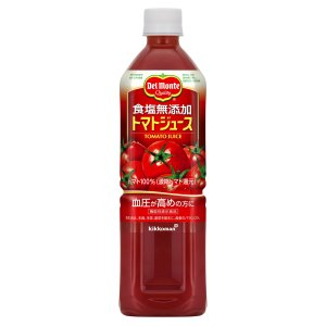 デルモンテ 食塩無添加 トマトジュース900g×12本[機能性表示食品]|rokufi