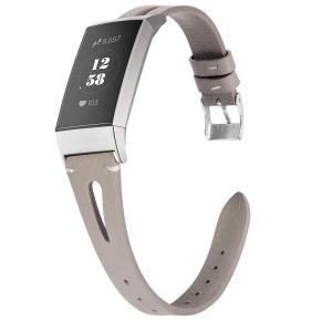 Fitbit Charge 3 バンド/フィットビット チャージ3レザーバンド Wearlizer fitbit charge 3 レザーベルト fitbit charge3 交換バンド 本革 バンド 工具なしで長|rokufi